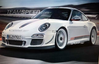 Illustration for article titled Is this the Porsche 911 GT3 RS 4.0?