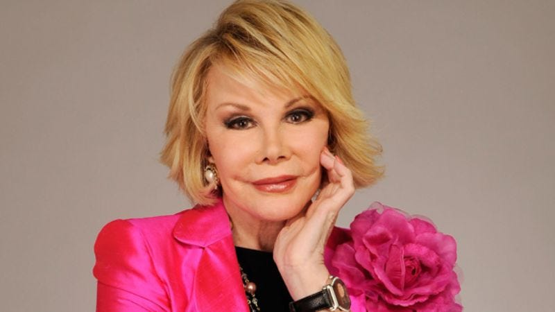 Illustration for article titled Joan Rivers