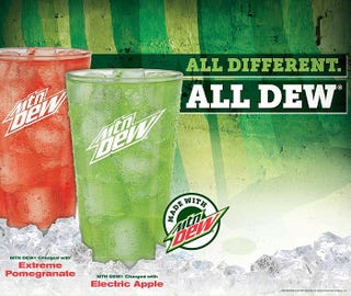 Illustration for article titled Looks like Villa FIK will add new Mountain Dew flavors