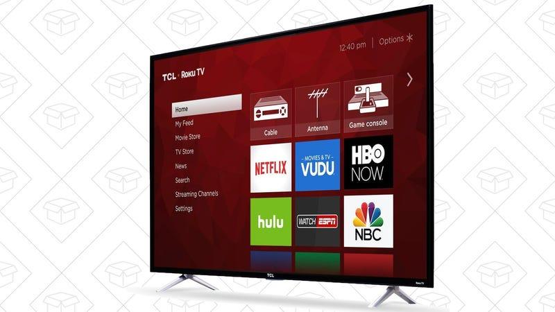 """TCL 65"""" 4K Roku TV, $700"""