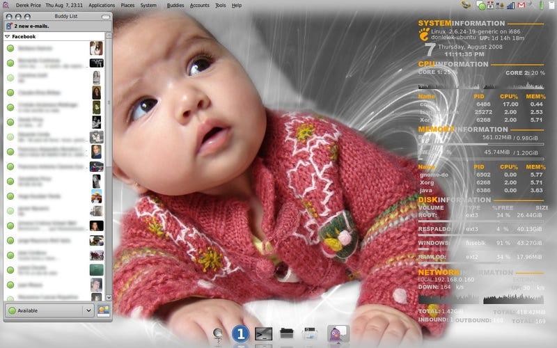 Illustration for article titled It's Ubuntu, Baby