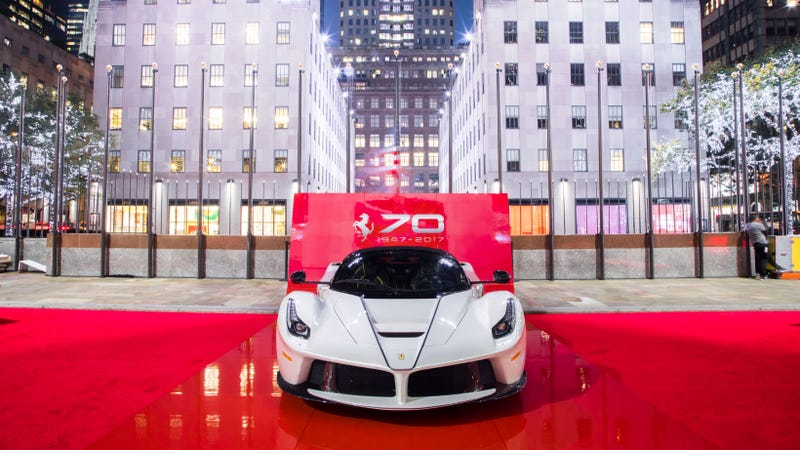 Illustration for article titled Ferrari Is Throwing Itself A Massive NYC Birthday Bash This Weekend And You Should Go