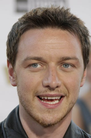 Illustration for article titled James McAvoy Is Expressive