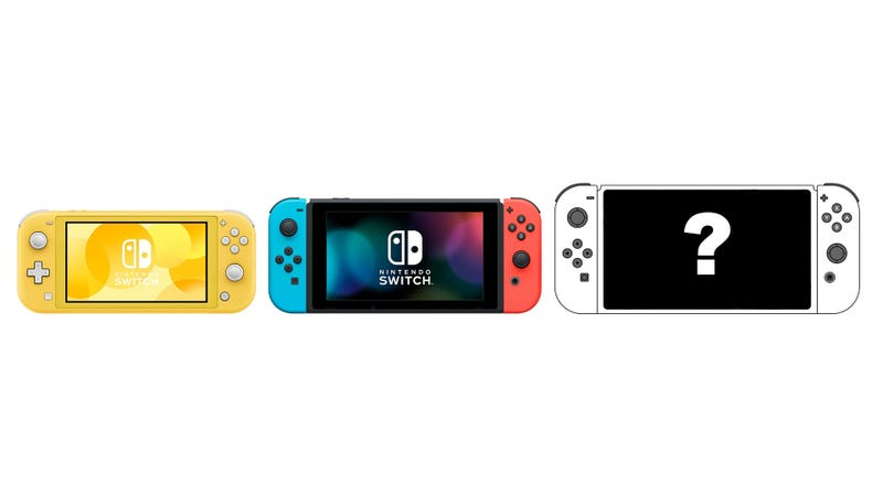 Illustration for article titled The Switch Lite Seems Nice, But What I Really Want Is a Switch Pro