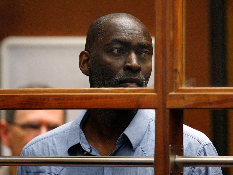 Actor Michael Jace appears in Los Angeles Court for an arraignment on May 22, 2014, in Los Angeles.David McNew-PoolGetty Images