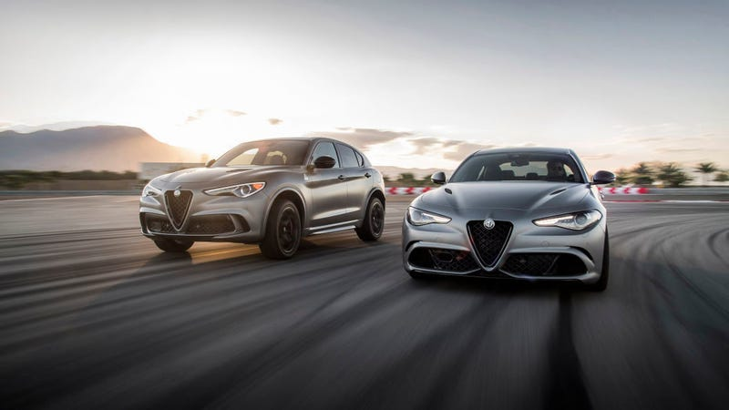 Illustration for article titled Ultra-Exclusive Alfa Romeo Giulia and Stelvio Quadrifoglio NRING Editions Already Mostly Sold Out in America (Updated)