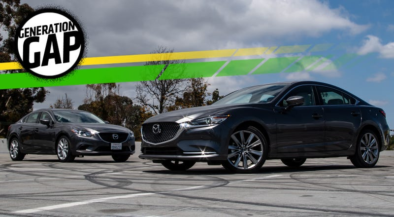Here S A Close Comparison Between The 2018 Mazda 6 And The 2017 Mazda 6