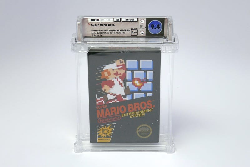 Illustration for article titled Sealed Copy Of Super Mario Bros. Sells For A Record-Breaking $100,150