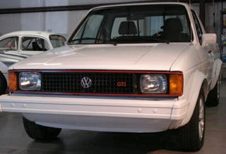 for $10,000, this 1982 vw rabbit pickup could be your race track truck