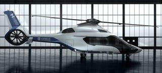 Illustration for article titled El nuevo helicóptero de Airbus es una pequeña maravilla futurista