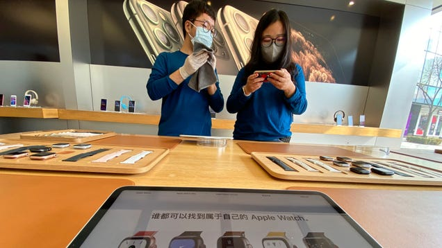 Apple Tells Geniuses They May Run Low on iPhones Thanks to Coronavirus Shutdowns in China