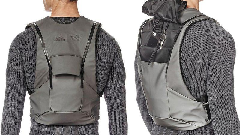 Illustration for article titled Adidas' Low-Profile Vest Backpack Is Better Than Batman's Utility Belt