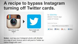 Illustration for article titled Instagram Broke the Ability to Share Photos on Twitter, Here's How to Fix It
