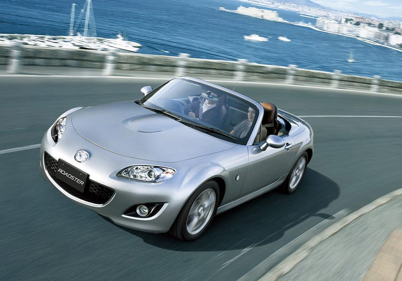 Illustration for article titled 2009 Mazda Miata MX-5 Launched In Japan