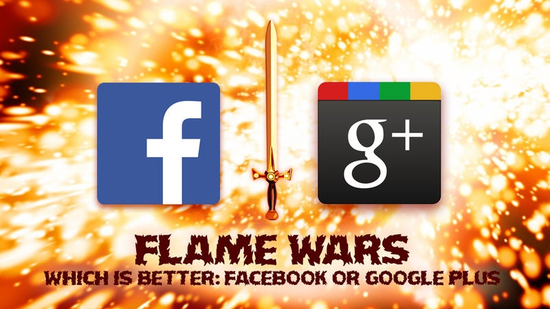 Illustration for article titled Facebook vs. Google+: Your Best Arguments