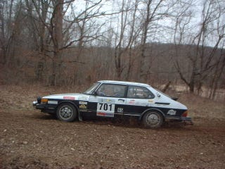 Illustration for article titled Need a Venison Chili Recipe.  For you efforts a Rallying SAAB