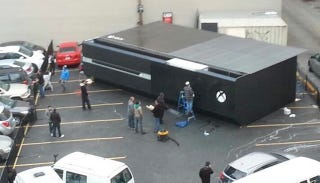 Illustration for article titled Here's An Xbox One The Size Of Fifty People
