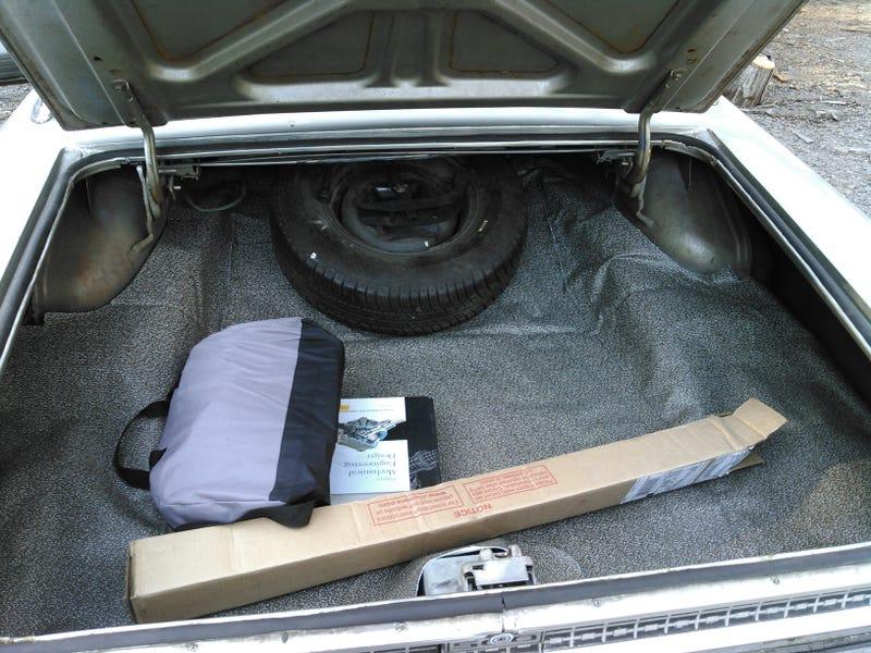 Illustration for article titled New trunk liner