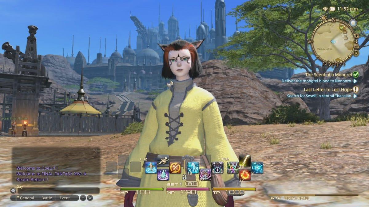 Final Fantasy XIV MMO Log Three: Play Us Out, PlayStation 3