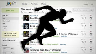 Illustration for article titled Jog.fm Suggests the Best Music for Your Workout Based on Your Performance