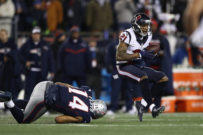 Patriots receiver Michael Floyd inactive vs Falcons