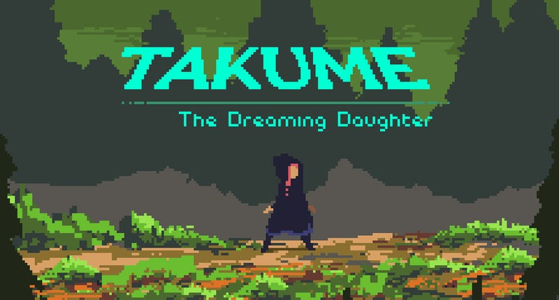 Takume is a very short (like, 5 mins) adventure game with some very nice pixel art.