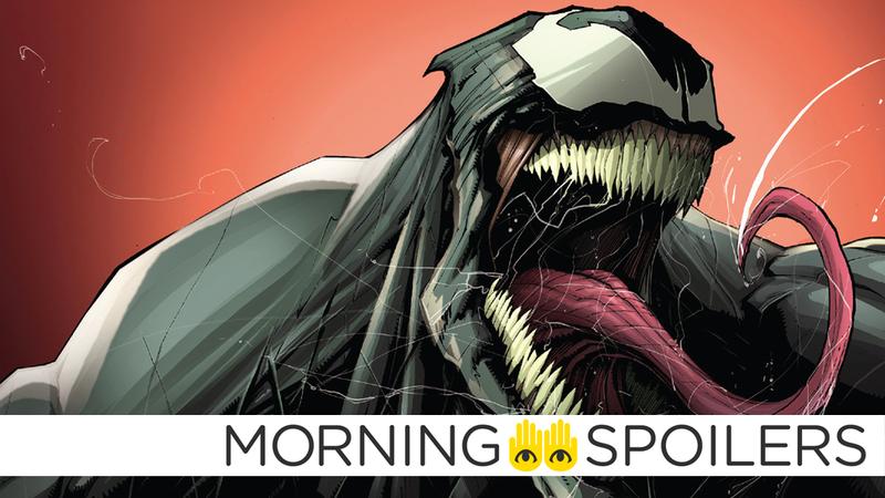 Image: Marvel Comics. Venom #1 cover art by Dono Sanchez Almara.