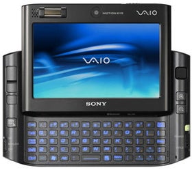 Illustration for article titled Sony's Flash-based UX390 UMPC: Like a $2,500 Sidekick