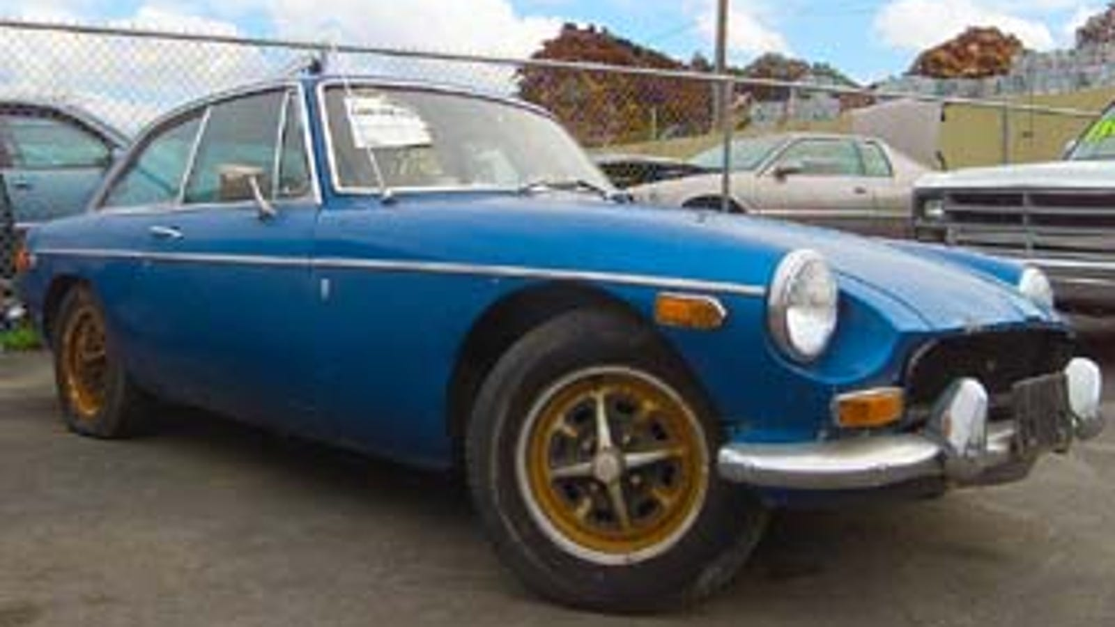 Pick-N-Pull: Buy This MGB-GT Today Or We'll Feed It To The