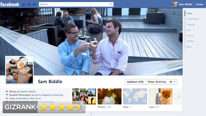Illustration for article titled Facebook Timeline Review: This Is the Greatest Thing Facebook's Ever Done