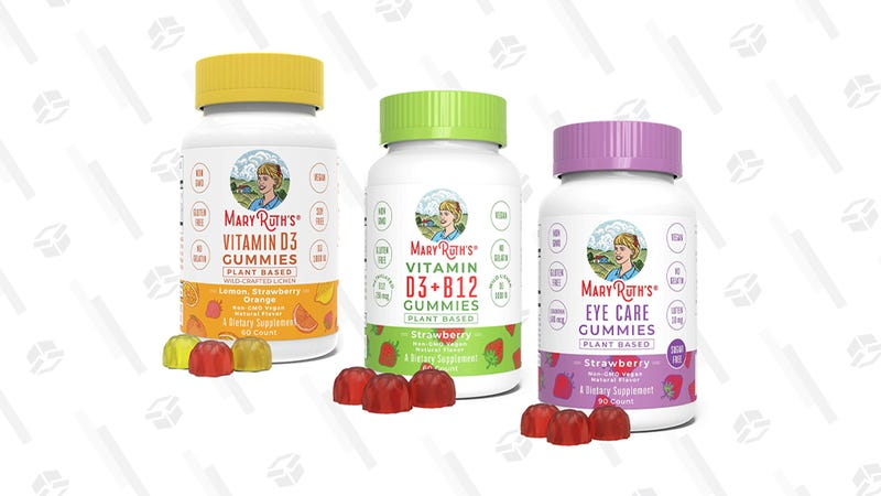 Probiotics and Gummy Vitamin Gold Box | Amazon