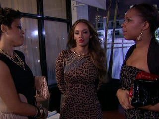 A scene from VH1's Basketball Wives (VH1)