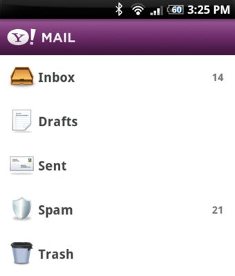 Illustration for article titled Yahoo Releases Mail, Messenger, and Search Apps for Android