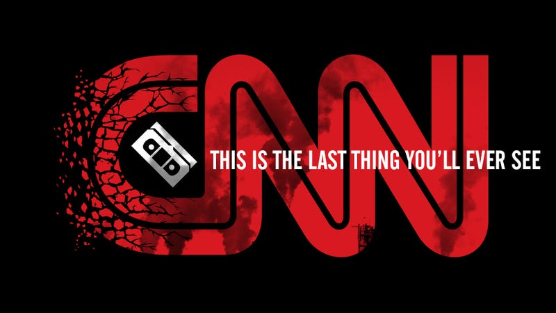 Illustration for article titled This Is The Video CNN Will Play When The World Ends