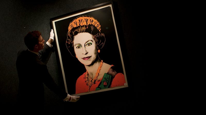 Illustration for article titled Queen Elizabeth Approves the Royal Collection's Purchase of Four Warhol Portraits