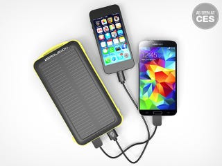 Illustration for article titled Get 50% off the ZeroLemon 20,000mAh Mobile Battery with Solar Power