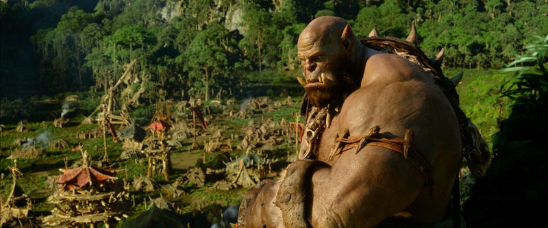 Illustration for article titled The Warcraft Movie Has Way More Practical Effects Than You Realize