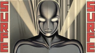 Illustration for article titled Fritz Lang's Silver Surfer, Bauhaus Iron Man, and other Art Deco superheroes
