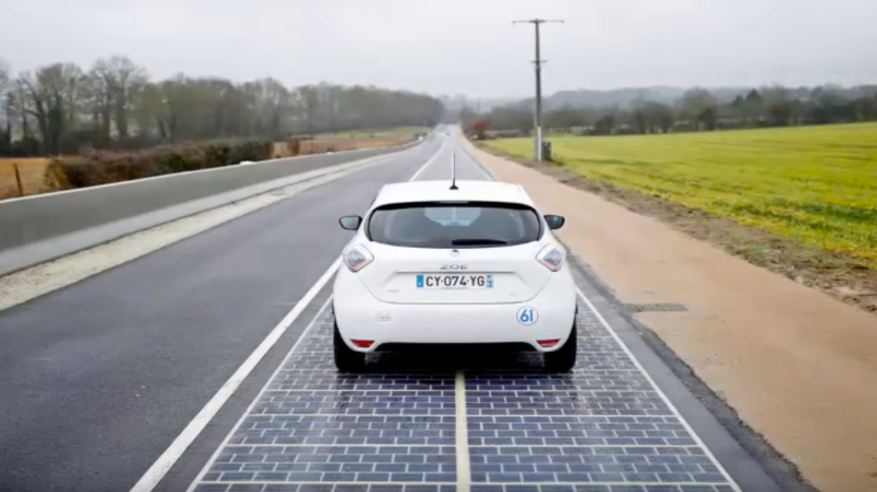 Illustration for article titled El primer camino hecho de paneles solares es oficialmente un fracaso