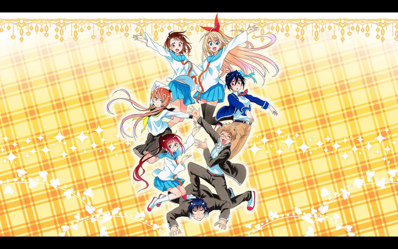 Illustration for article titled Nisekoi's First Season Has Ended! Let's Fight!