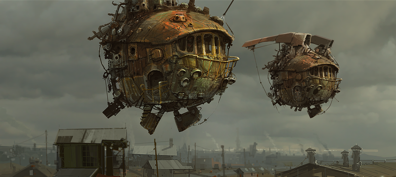 Illustration for article titled The ships of the air are dilapidated but graceful