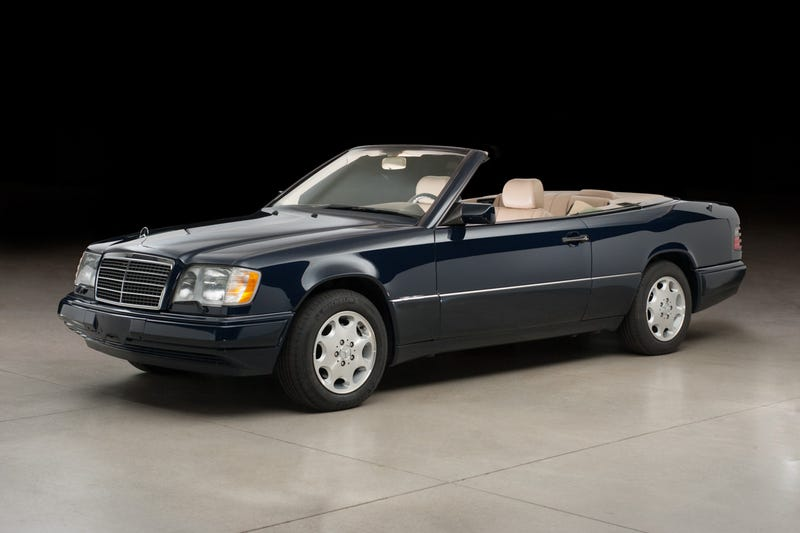 Illustration for article titled What's the deal with the W124 Cabriolet?