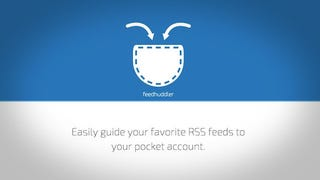 Illustration for article titled Feedhuddler Sends RSS Feeds Straight to Pocket