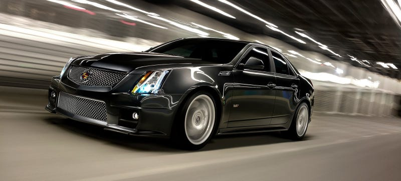 Illustration for article titled The Next Cadillac CTS-V Will Be Revealed In Detroit: Report