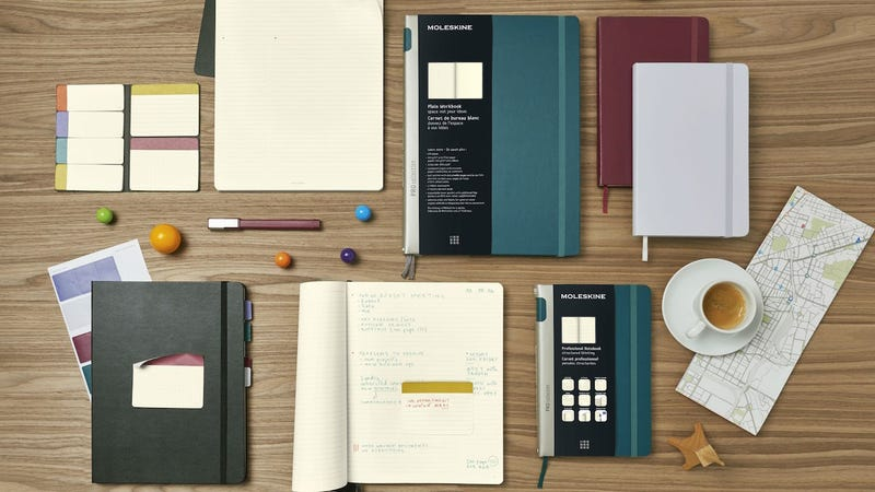 Illustration for article titled Moleskine Unveils New Notebooks Designed for Productivity and Organization