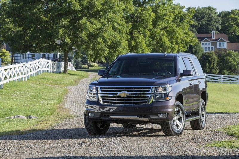 Illustration for article titled Did you know the new Tahoe Z71 looks good?