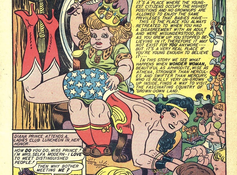 Illustration for article titled Why Early Wonder Woman Was A Champion Of Feminism... And Bondage
