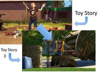 Illustration for article titled Karma Strikes Toy Story Bully, Becomes Lowly Garbage Man