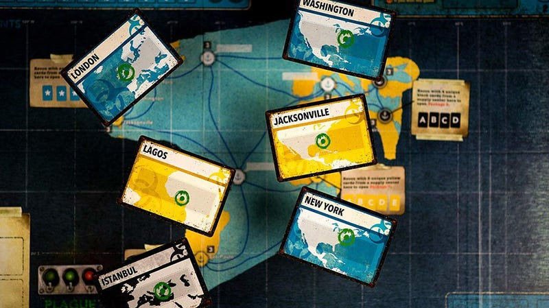 Pandemic Legacy Season 1 (Red) | $41 | AmazonPandemic Legacy Season 1 (Blue) | $41 | AmazonPandemic Legacy Season 2 (Yellow) | $41 | Amazon