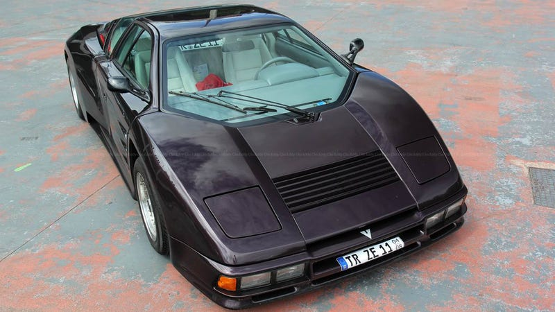 Illustration for article titled This Is A German Supercar You Don't Remember